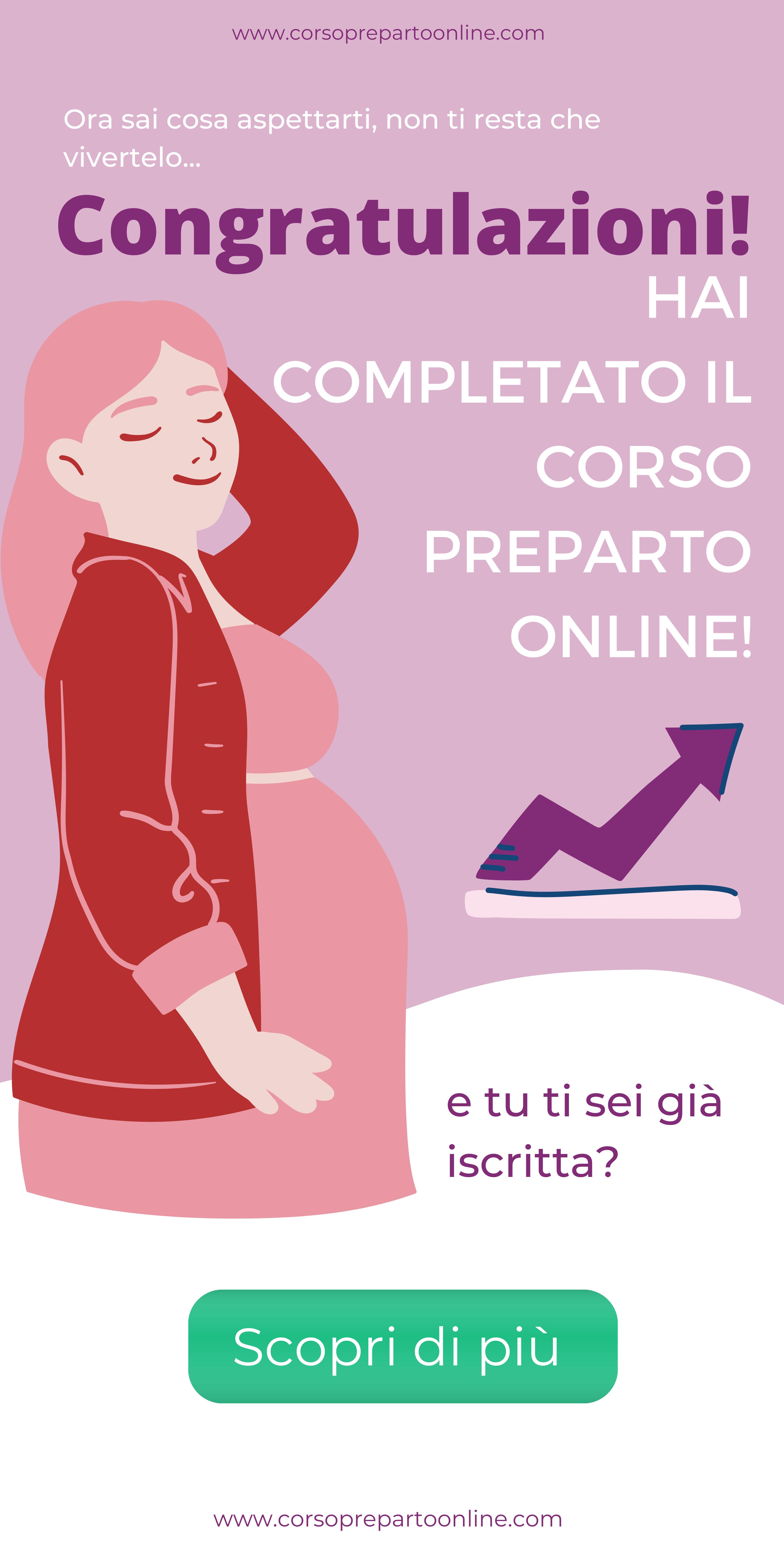 corso preparto online